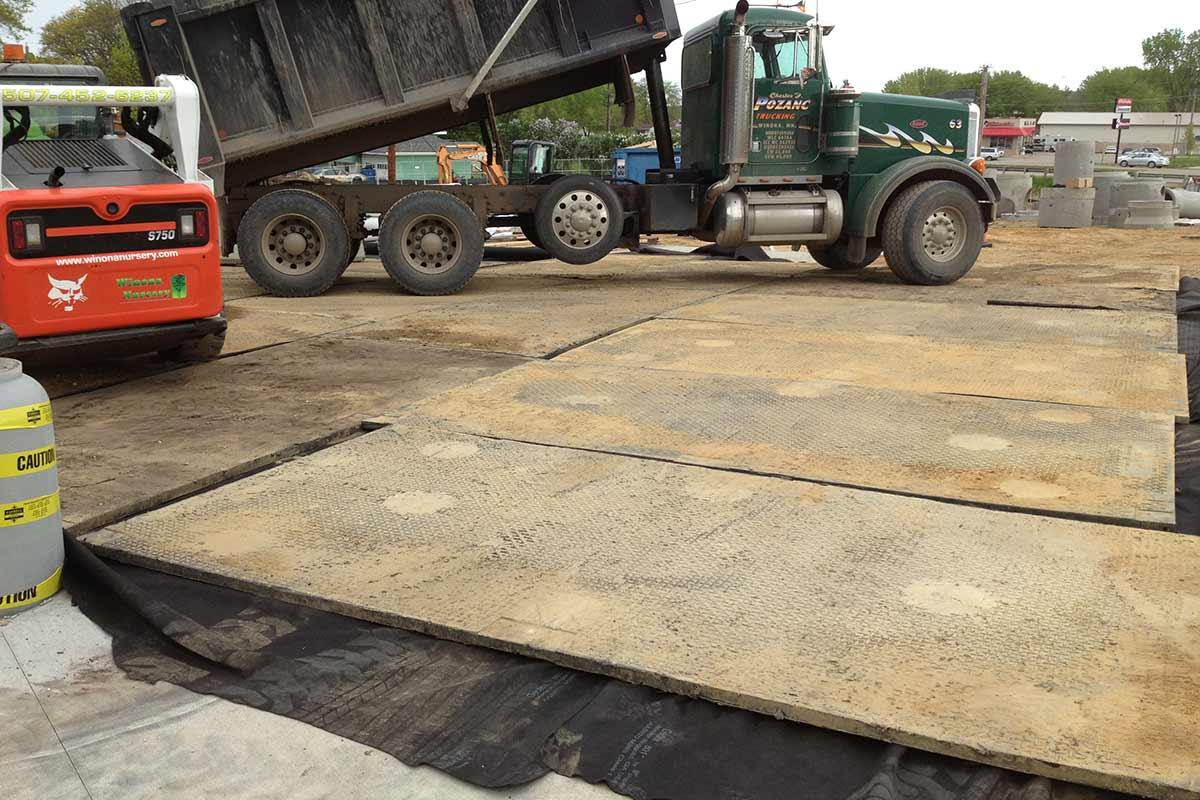 Construction Track Mats